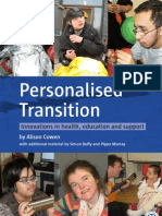 Personalised Transition - Innovations in health, education and support