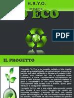 Presentazione Progetto Io Eco