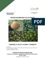 Estudio de Mercado de Frutos