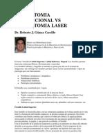 Frenectomia Convencional vs Frenectomia Laser