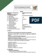 041B Estructura de Datos 2012-II