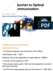 Introduction to Optical Communication