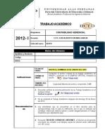 x Trabajo Academico 2012-1m Contabilidad Gerencial Modulo II