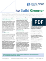 5 Ways to Build Greener