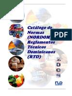 Catalogo de Normas y Reglamentos Tecnicos Dominicanos 2008