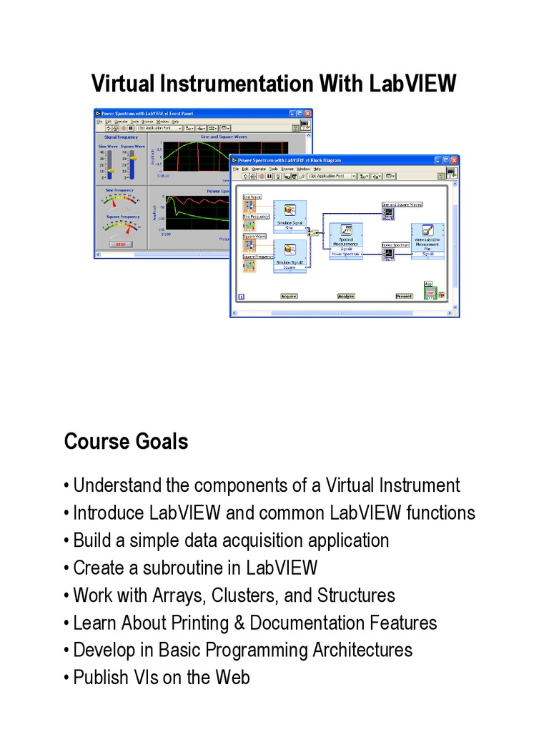 LabVIEW Introduction | Icon (Computing) | Data Acquisition