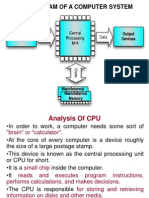 Analysis of CPU