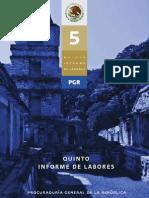 5o Informe de Labores PGR