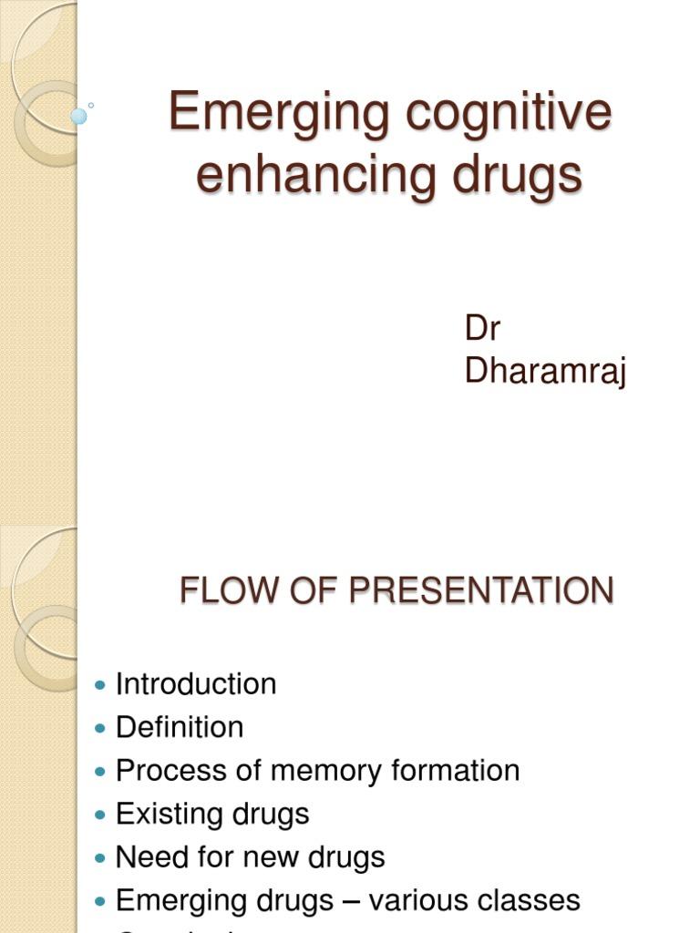 Emerging Cognitive Enhancing Drugs Long Term Potentiation Synapse