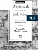 Mark Hayes - 10 Spirituals - Copy
