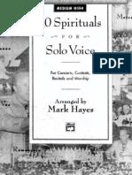 Mark Hayes - 10 Spirituals - Copy