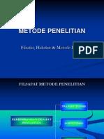 Metodologi Penelitian (Filsafat, Hakikat, Dan Metode Ilmiah)