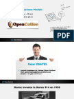 Elton-Pickford Présentation du 19 Septembre 2012 - Open Coffee - Brest