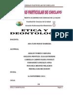 Codigos Eticos y Deontologicos Del Obstetra