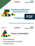Healthwatch Slides