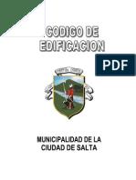 Codigo de Edificacion de La Ciudad de Salta