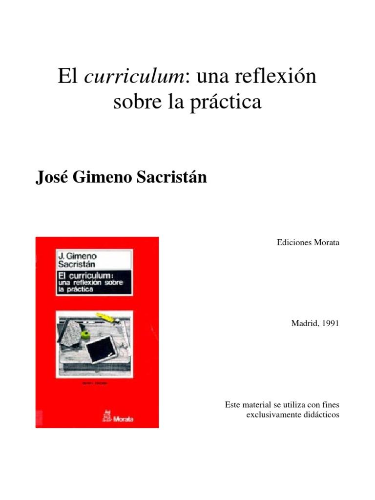 Gimeno Sacristan Curriculum+Una+Reflexion+Sobre+La+Practica.desbloqueado