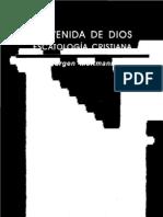 103803427 Moltmann Jurgen La Venida de Dios