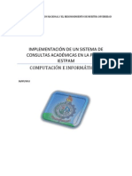 Proyecto Final de Consultas Academicas