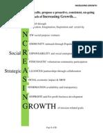 lafayelle increasing growth - management training