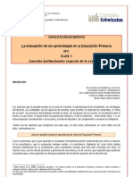 Curso Evaluacion Educ Primaria -Clase 1