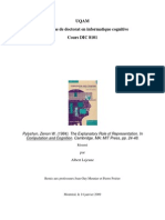 Pylyshyn Explanatory Roles Résumé Par Albert Lejeune A2008