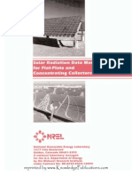 NREL Solar Radiation Data Manual