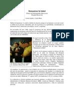 Articulo Humanizar La Salud