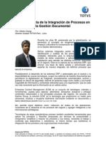 La importancia de la Integración de Procesos en la Gestión Documental