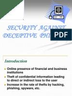 Deceptive Phishing Pptseminars