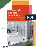 Brochure Estudios Impacto Economico
