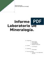 1er Informe cristalografia