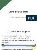 Como Subir Documentos a Mi Blogg