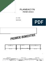 Planeacion Anual 1o_PRIMARIA
