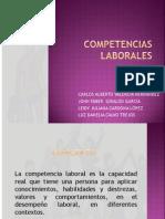 COMPETENCIAS LABORALES presentación