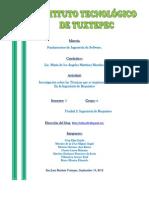 Investigación sobre técnicas que se implementan en las tareas de la Ingeniería de Requisitos