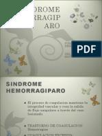 restauración de SINDROME HEMORRAGIPARO (2)