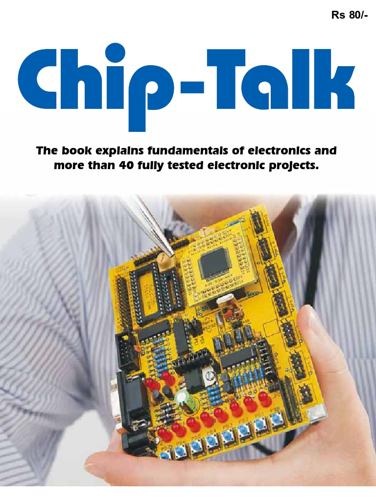Chip Talk Electronics Experimenters Poject Book Inductor Resistor Lm317 Automatic Low Cost Emergency Light Circuit Free