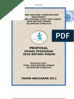 Proposal Pendidikan