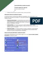 Lesson 11 - Instrucciones Para Administrar Cuentas de Usuario