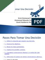 Pasos Para Tomar Una Decisión