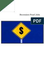 Recession Proof Jobs