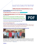 15th_16th and 17th Batch of Fast Track Cfp Exam 5-Final-Afp Training Workshop Mumbai_vijayawada_mumbai