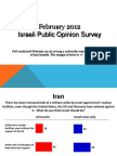 Israel Poll Feb 2012