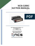 Multiswitch - C250 Instruction Manual