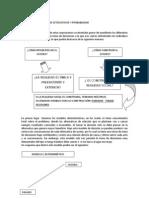 Determinismo, Modelos Estocasticos e Incertidumbre