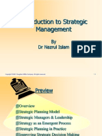 Chapter 01 Lecture 01 Introduction to Sstrategic Mgt