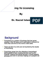 Chapter 07B Corporate Level Strategy - LicensingVSFranching
