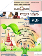 Afis Atelier Creativ