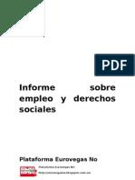 Informe Sobre Empleo y Derechos Sociales